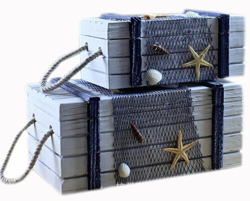 Fashionable Nautical Wooden Box Craft