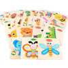 Baby Wooden Building Blocks Puzzle