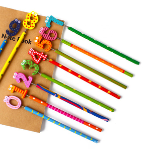 Wooden Cartoon Pencil For Kids