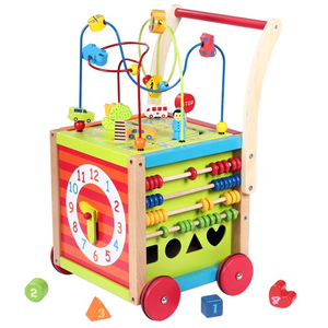 Wooden Baby Walker Push Toy