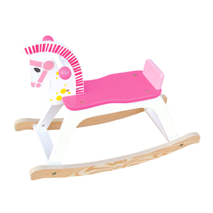 Children Wooden Rocking Horse