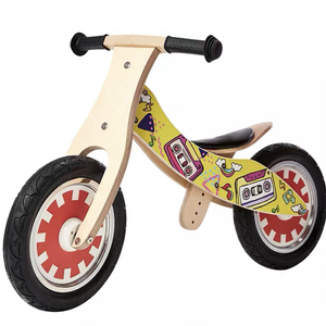 children wooden balance training bicycle