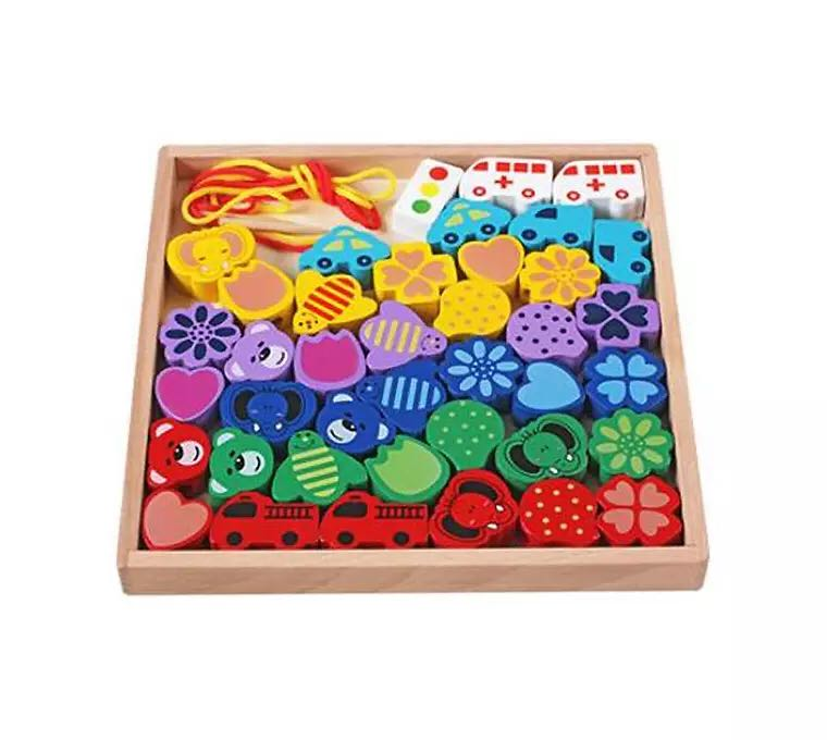 Wooden Craft 3D Puzzle Diy Toy