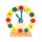 Wooden Clock Toys for Kids