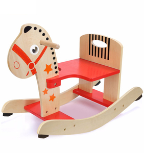 Popular Wooden Toddler Rocking Horse