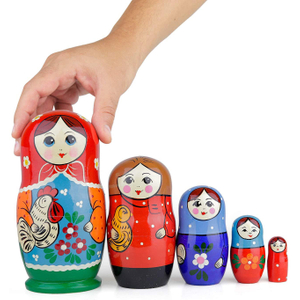 wholesale russian wooden nesting dolls