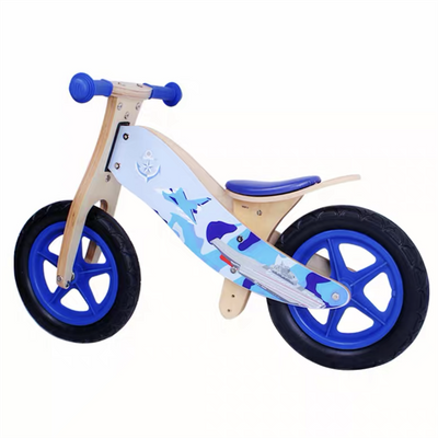 Children Wooden Balance Bike