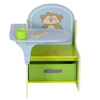 Children furniture with animal canvas
