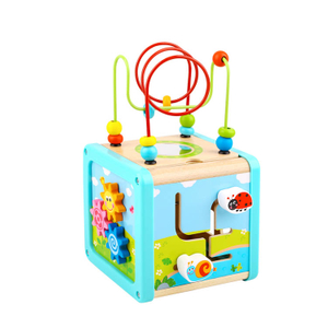 Wooden Activity Cube Toys