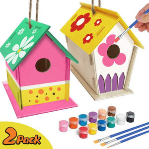 DIY Wooden Bird House Toys