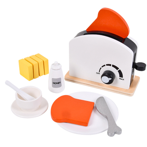Children Wooden Pretend Play Kitchen Toy