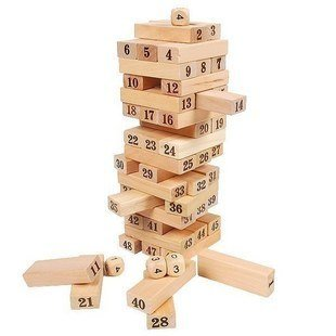 Jenga Games, Wooden Edcuational Toys