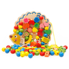 Wooden Lacing & Stringing Beads Toys