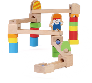Marble Run Wood Toys Ball Game