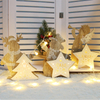 Wooden Arts Crafts Christmas Decoration Ornaments