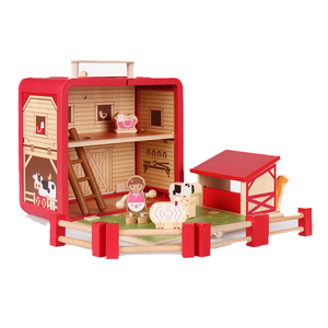 Wooden Farm House Toys