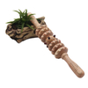 cellulite body roller wooden massager stick