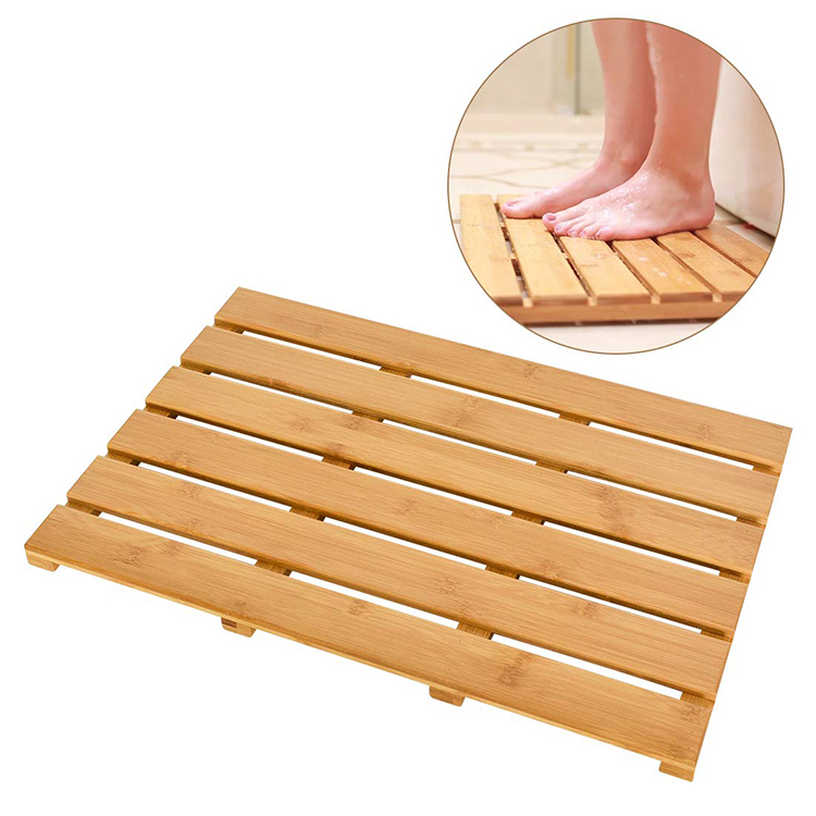 Bamboo Shower Bath Mat