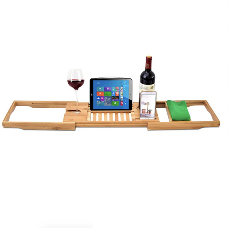 Bamboo Bathtub Caddy Tray