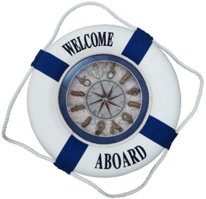 Life Buoy with Clock
