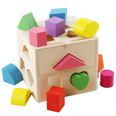 wooden shape sorters toys