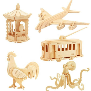 Promotional 3D Wooden Jigsaw Puzzle
