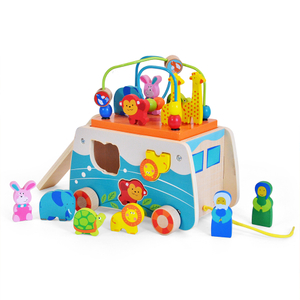 Wooden Noah's Ark Shape Sorter Toy