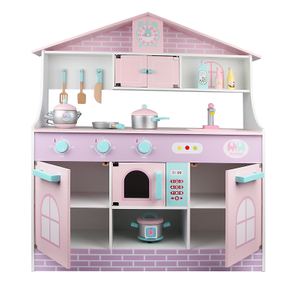 Cute Wooden Kitchen Set Toy