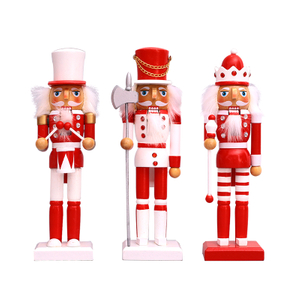 Wooden Nutcracker Christmas Soldiers
