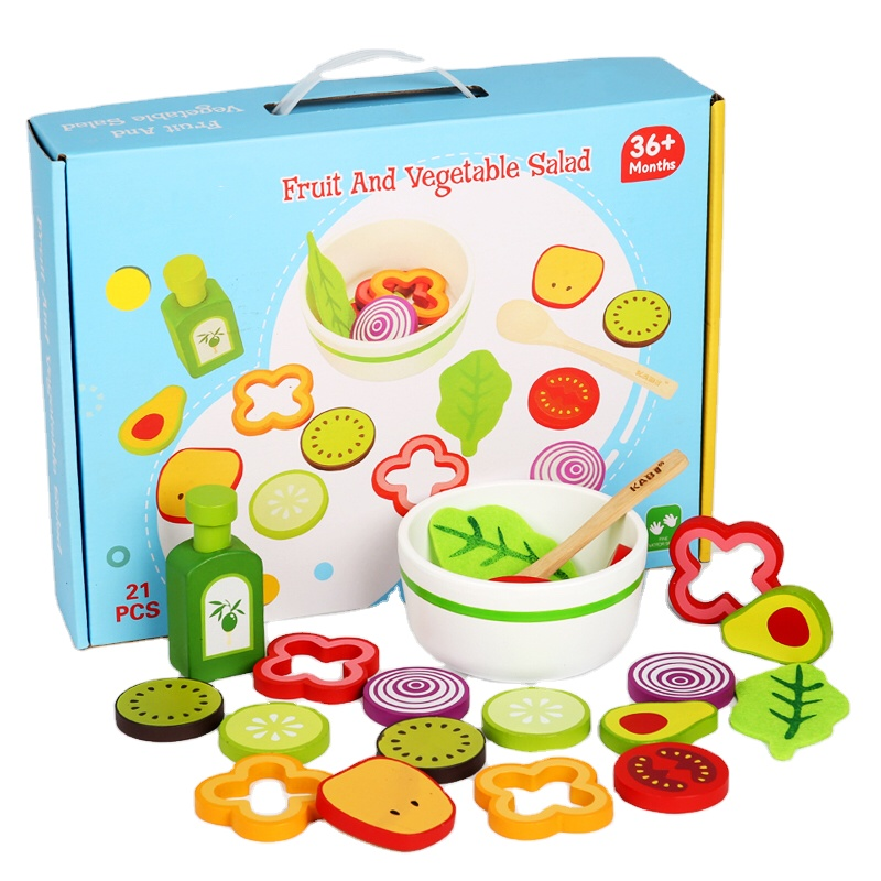 Wooden Fruit Vegetables Educational Toys