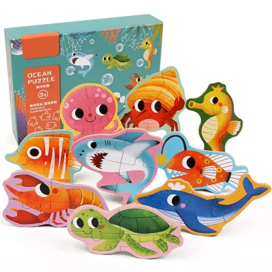 Animal Children Educational Puzzle Dinosaur Puzzle Toy