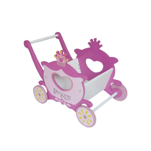Wholesale Promotional Wooden Doll Toy Pram