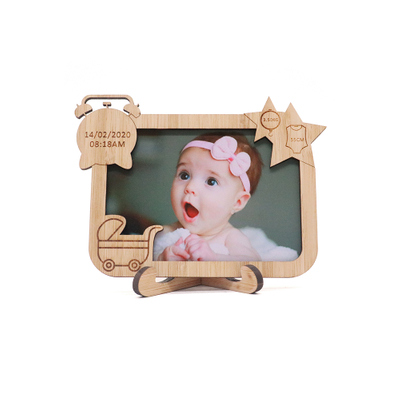 Personalized Tabletop Wooden Picture Frames