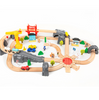 Kids Play Wooden Railway Set