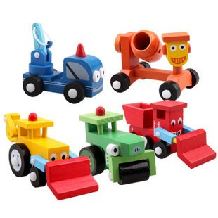 Wooden Toy Vehicle, Wooden Kids Toys