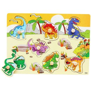 3D educational wooden jigsaw puzzle