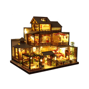 Japanese Style DIY Doll House Toys