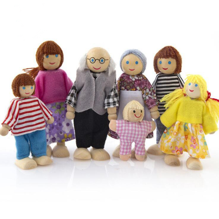 Wooden Family Doll Toys