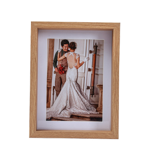 6x8 Inches Thick Wood Photo Frames